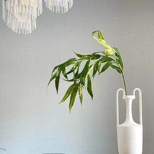 WEST ELM Faux Green Branches X2
